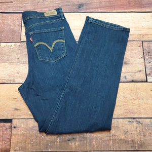 512 Straight Leg Jeans Perfectly Slimming Size 10S